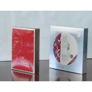 White Card Paper Cosmetic Box