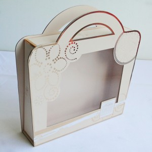 window shape gift box