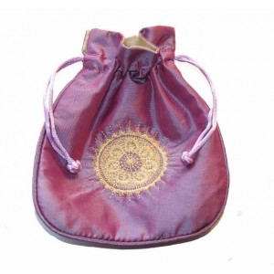 Custom Satin Gift Pouch Bag