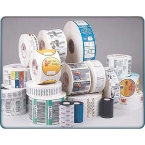 Adhesive label sticker roll printing