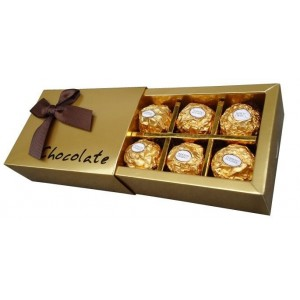 Paper Chocolate Gift Boxes